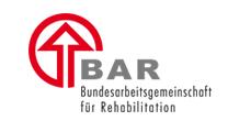 Logo der Bundesarbeitsgemeinschaft für Rehabilitation e. V. (BAR)