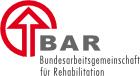 Logo: Bundesarbeitsgemeinschaft für Rehabilitation e.V. (BAR)